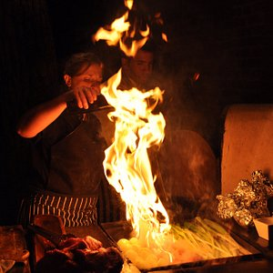 Cristina Brino cooking class