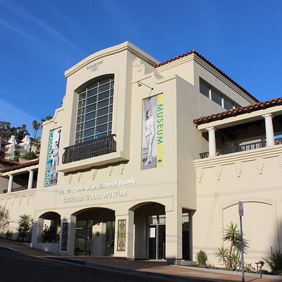 Facade of the new Catalina Island Museum