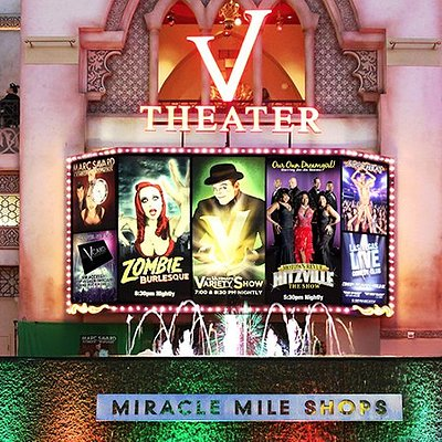 V Theater inside the Miracle Mile Shops