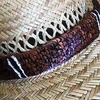 pheasant feather hatbands a Maui specialty  56 central avennue wailuku maui hawaii  808-280-1517