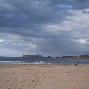 Playa desde el paseo