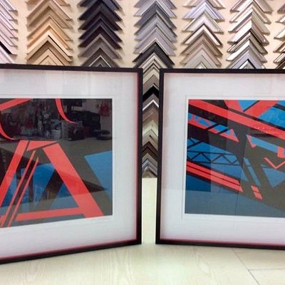 Great picture framing service.