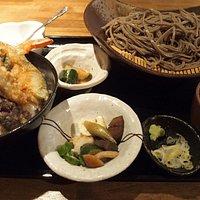 ざるセット(天丼) 約1100円