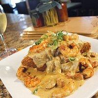Shrimp and Grits Dinner