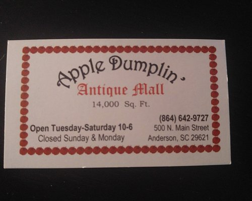 Apple Dumplin Antique