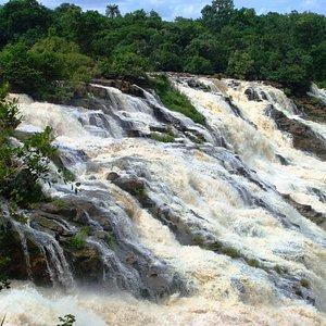 Powerful waters of Gurara Falls in the Niger State