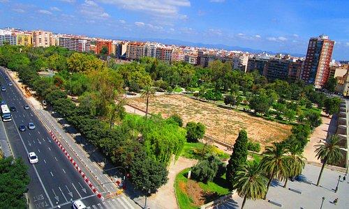 La vista dalla Torre de Serrans
