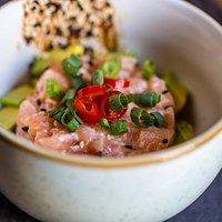 Awesome salmon tartare