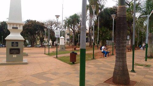 Plaza San Martín. Puerto Iguazú.