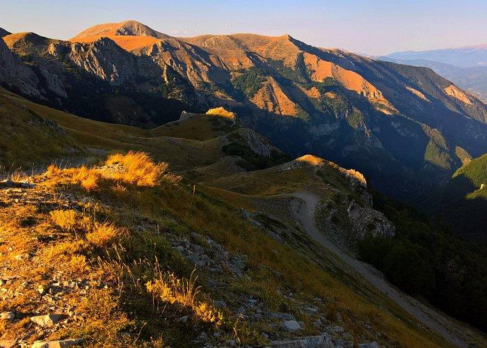panorama dalla Cima Pratorecchia nei pressi del Rif. Angelo Sebastiani
