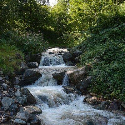 watervalletje onderweg