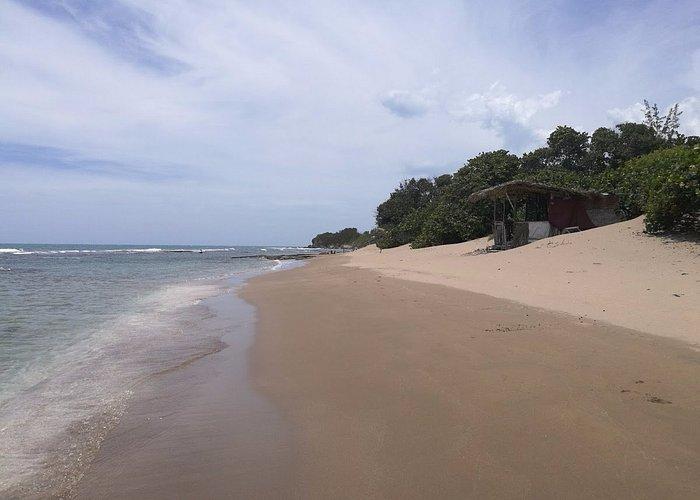 beautiful beach , not too touristic