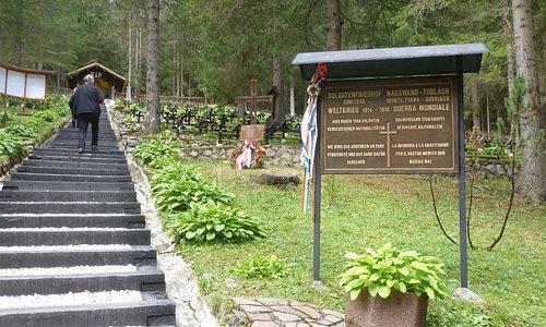 Il cimitero di guerra