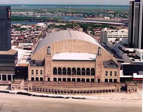 Boardwalk Hall Aerial