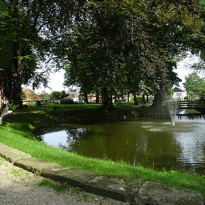 -Ootmarsum Rijksmonument Stadspark Engelstuin uit 1833-