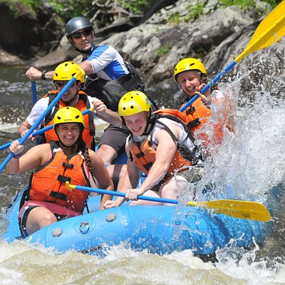 Whitewater Rafting on Zoar Gap - our most popular trip