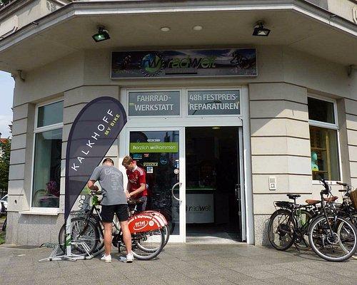 Bei der Radwelt bekommt man werkstattgepflegte Fahrräder, um die Hauptstadt Berlin zu erkunden.