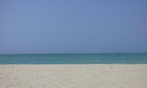 poca gente en esta playa, pero segura ante todo.