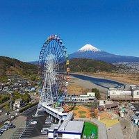 富士川楽座 俯瞰写真