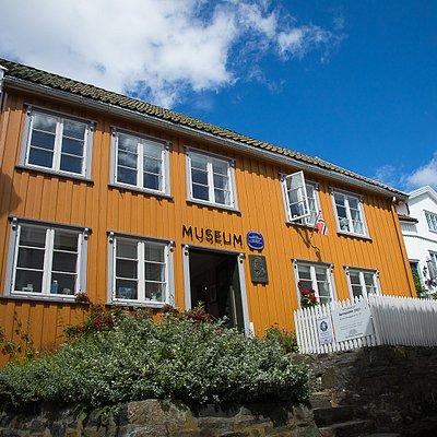 Kittelsenhuset i Kragerø sentrum