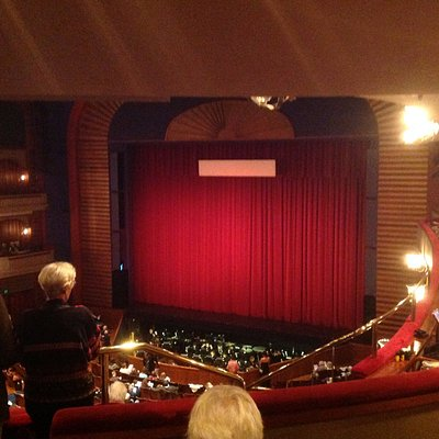 Ordway - Stage & Auditorium from Balcony (7/2017)