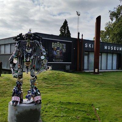 Museet set fra vejen