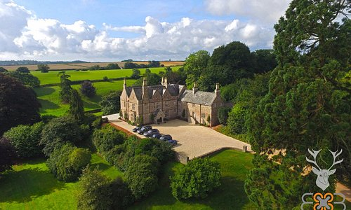 Aerial Photo of Paschoe House - August