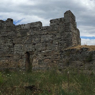 Part of the walls gear paestum
