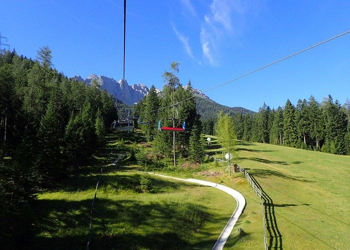 Bergfahrt mit dem Marienberglift