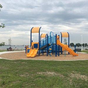 New Rotary playground equipment at Centennial Park