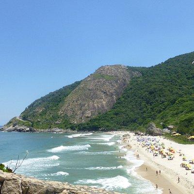Macumba Beach, Rio, Brasilien