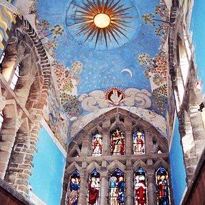 The wonderful chancel of St Andrew's, Roker