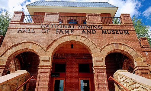 Entrance to National Mining Hall of Fame and Museum