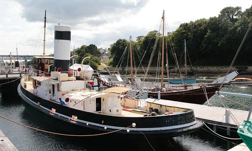 One of the boats to visit as part of the museum visit