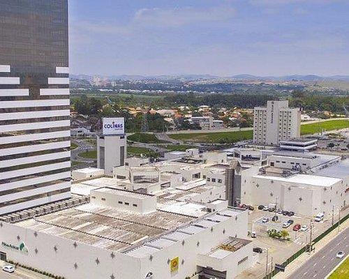 Vista aérea do Colinas Shopping