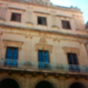 Palazzo nobiliare testimone dei fatti .....