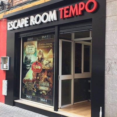 Puerta de Entrada de Escape Room Tempo en Sevilla