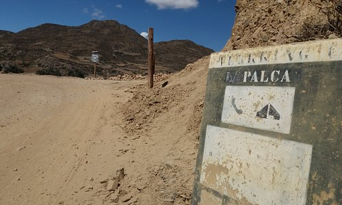 Nice walking in the canyon near to La Paz