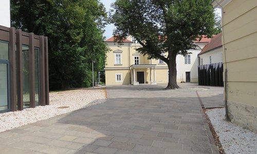 One part of museum, lapidarium - is in this castle