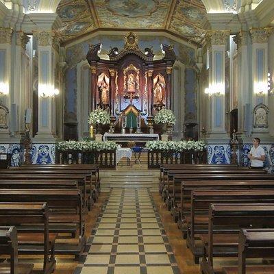 A Igreja é muito linda. Localizada junto à PUC SP. Visitem, seja para orações ou turismo respeit