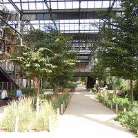 Les jardins sous la halle Pajol