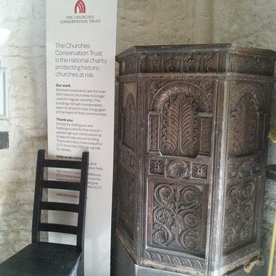 pulpit in tower