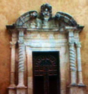 Articoli architettonici del Portale d'ingresso ....