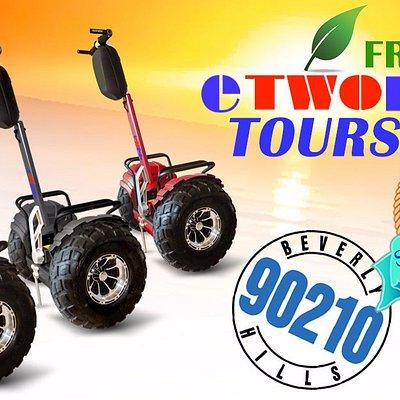 eTWORIDE Eco tours on Segway®-like transporters