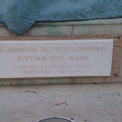 Targa Monumento ai Dispersi Vittime del Mare