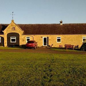 The Lodge at sunrise