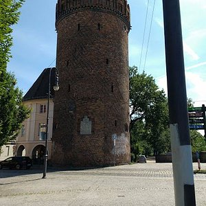 This is the tower, but cross the street and look for the memorial