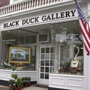 A beautiful gallery in downtown Westerly offering local art, bird carvings, & picture framing