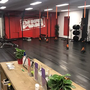 Impressie van trainingen binnen PUSH Training Studio