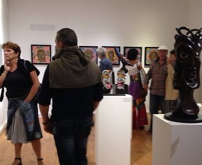 Exhibition opening at Centre d' Art